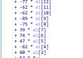 利用matlab求解RE中出现的齐次线性方程组